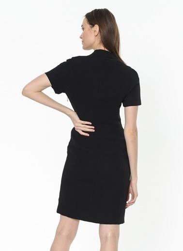Bessini Kalem Elbise Siyah